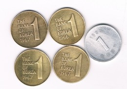 1 WON LOT ZUID KOREA /5621/ - Korea (Zuid)