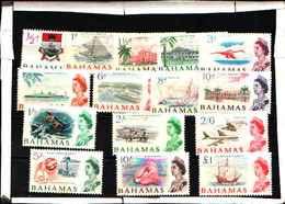 5955BIS )  BAHAMAS 1965 SERIE Ordinaria Elisabetta II  -MNH** - Bahamas (1973-...)