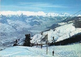 Station De Haute Nendaz - Pistes Du Tracouet Et La Vallée Du Rhône - VS Valais