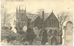 PARISH CHURCH OSWALDTWISTLE - WITH ACCRINGTON DUPLEX POSTMARK - England