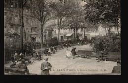 LOT651.....SELECTION 10 CPA PARIS ANIMEES - Postcards