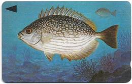 Bahrain - Fish Of Bahrain - Streaked Rabbitfish - 40BAHG (Normal 0) - 1996, Used - Bahrein