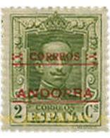 Ref. 584396 * MNH * - ANDORRA. Spanish Adm.. 1928. ALFONSO XII . ALFONSO XII - Andorre Espagnol