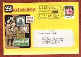 Infopost Mit Inhalt, Malve, Absenderstempel Limes 151 Lorch, 2008 (77006) - [7] Repubblica Federale