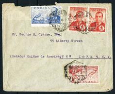 España (S) Correo Aéreo Año 1946 - Espagne