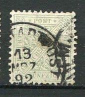 WURT - SE Yv. N° 13  MI. N° 206  (o)  50p  Vert-gris  Cote   8 Euro   BE   2 Scans - Wuerttemberg