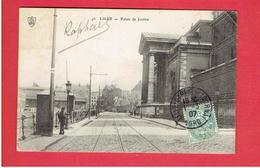 LILLE 1907 PALAIS DE JUSTICE CARTE EN TRES BON ETAT - Lille