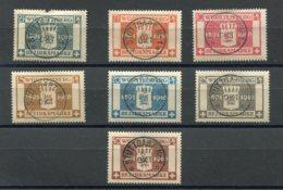 WURT - SE Yv. N° 71 à 77   MI. N° 123 à 129  (o)  Anniversaire Guillaume II  Cote  22 Euro   BE R  2 Scans - Wuerttemberg