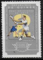 GUINEE N° 7526 * * Tennis Badminton - Badminton