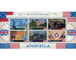 Ref. 47116 * MNH * - ANGUILLA. 1975. BICENTENARY OF THE INDEPENDENCE OF THE UNITED STATES . BICENTENARIO DE LA INDEPENDE - Anguilla (1968-...)