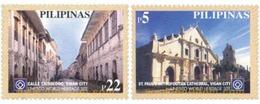 Ref. 136719 * MNH * - PHILIPPINES. 2002. UNESCO WORLD HERITAGE . PATRIMONIO MUNDIAL DE LA UNESCO - Philippines