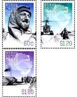 Ref. 276517 * MNH * - AUSTRALIAN ANTARCTIC TERRITORY. 2012. 100 ANIVERSARIO DEL NACIMINETO DE PHILLIP LAW 1912-2010 - Unused Stamps