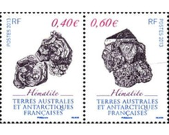 Ref. 298428 * MNH * - FRENCH ANTARCTIC TERRITORY. 2013. MINERALS . MINERALES - Unused Stamps