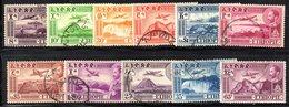 ETP292 - ETIOPIA 1947 ,  Posta Aerea Yvert  N. 23/30  Usato  (2380A) - Etiopia