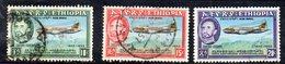 ETP293 - ETIOPIA 1955 ,  Posta Aerea Yvert  N. 35/37  Usato  (2380A) - Etiopia