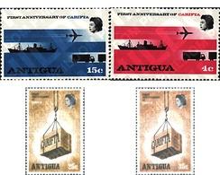 Ref. 41405 * MNH * - ANTIGUA. 1969. LIBRE CAMBIO EN EL CARIBE - Trasporti