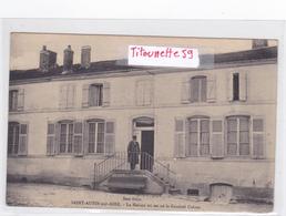 55- SAINT-AUBIN-sur-AIRE - La Maison Où Est Né Le Général Colson - (Son Frère)- Ecrite Le 31/3/1915 - Andere Gemeenten