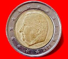 BELGIO - 2005 - Moneta - Effige Del Re Alberto II Del Belgio - Euro - 2.00 - Belgio