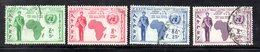 ETP201b - ETIOPIA 1958 ,  Posta Aerea Yvert  N. 57/60  Usata (2380A) - Etiopia