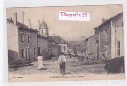 55- SAINT-GERMAIN - La Rue TRAVERSE-Edit. Dardaine -Eglise- Rue Du Village-Ecrite 10/2/1915 - (25-7-19) - France