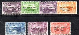 ETP202 - ETIOPIA 1959 ,  Posta Aerea Yvert  N. 61/67  *  Linguella (2380A) - Etiopia