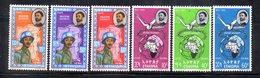 ETP203 - ETIOPIA ,  Posta Aerea Yvert  N. 68/70 + 71/73  *  Linguella (2380A) - Etiopia