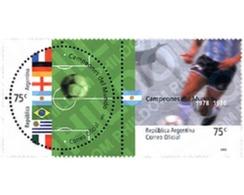 Ref. 4424 * MNH * - ARGENTINA. 2002. FOOTBALL WORLD CUP. SOUTH KOREA AND JAPAN-02 . COPA DEL MUNDO DE FUTBOL. COREA DEL - Nuovi