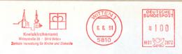 Freistempel 2653 Kreiskirchenamt Witten - Marcophilie - EMA (Empreintes Machines)