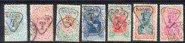 ETP209 - ETIOPIA 1913,  Segnatasse Yvert  N. 36/42  Serie Usata (2380A) - Etiopia