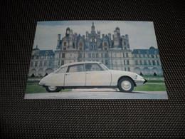 Voiture ( 41 )    Car  Automobile  Auto  :  D S  19  Citroën - Toerisme