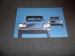 Voiture ( 48 )    Car  Automobile  Auto  :   Citroën  D S - Toerisme