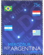 Ref. 283726 * MNH * - ARGENTINA. 1997. MERCOSUR . MERCOSUR - Unused Stamps