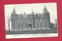 C.P. Langemark =  1914-1915  :  Château  Avant  Le  Bombardement - Langemark-Poelkapelle