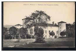 CPA-69-POULE-CHÂTEAU DE FOUGERES- - Autres Communes