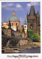 CPM TCHEQUIE PRAHA PRAGUE Charles Bridge And The Old Town - Tschechische Republik
