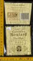 Etichetta Vino Liquore Calvados Boulard - Francia - Etichette