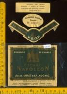 Etichetta Vino Liquore Cognac  Napolèon - Francia - Etichette