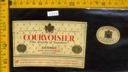 Etichetta Vino Liquore Cognac Courvoisier Napolèon - Francia - Etichette