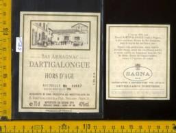 Etichetta Vino Liquore Dartigalongue Bas-Armagnac  - Francia - Etichette