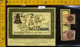 Etichetta Vino Liquore Mare A La Cloche Jules Belin - Francia - Etichette