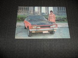 Voiture ( 62 )    Car  Automobile  Auto  :  FORD Capri 2600 GT - Toerisme