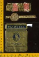 Etichetta Vino Liquore Cognac Medaillon Martell - Francia - Etichette