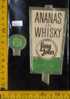 Etichetta Vino Liquore Ananas In Whisky Long John - Dufour - Etichette