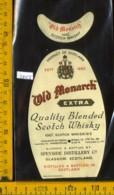Etichetta Vino Liquore Scotch Whisky Old Monarch - Scozia - Etichette