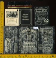 Etichetta Vino Liquore Whisky Jack Daniel's - USA  (difetto) - Etichette
