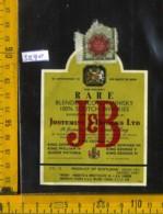 Etichetta Vino Liquore Scotch Whisky J & B - Scozia - Etichette