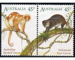 Ref. 339549 * MNH * - AUSTRALIA. 1996. MAMMALS . MAMIFEROS - 1990-99 Elizabeth II