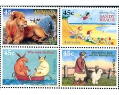Ref. 6432 * MNH * - AUSTRALIA. 1996. 50th ANNIVERSARY OF THE CHILDREN'S BOOK COUNCIL . 50 ANIVERSARIO DEL PREMIO DEL LIB - 1990-99 Elizabeth II