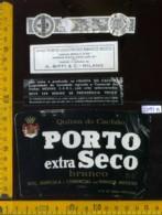 Etichetta Vino Liquore Porto Extra Seco Branco  - Portogallo - Etichette