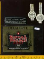 Etichetta Vino Liquore Porto Royal Palace Delaforce  - Portogallo - Etichette